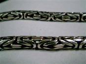 "15"" Silver Chain 925 Silver 34.99g"
